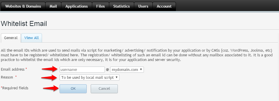 Register Your Email to be Used With Java Script Editors in